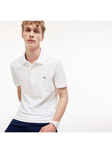 Lacoste Polo Yaka Tişört Beyaz